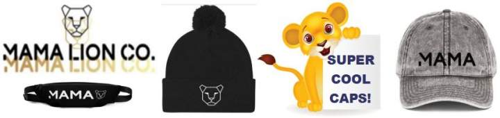 Mama Lion Co. Online Store. Lion Theme Clothing & Accessories